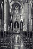 Dentro de Saint Catharine Church Fotos de Stock Royalty Free