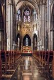 Dentro de Saint Catharine Church Fotos de Stock