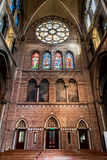 Dentro de Saint Catharine Church em Eindhoven Foto de Stock Royalty Free