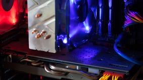 Dentro de um computador Imagem de Stock Royalty Free