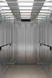 Dentro de um elevador Imagem de Stock Royalty Free