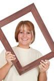 Dentro de um frame Fotografia de Stock