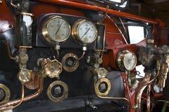 Dentro de um motor de vapor Fotografia de Stock Royalty Free