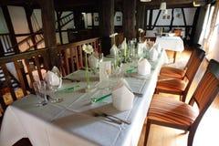 Dentro de um restaurante Foto de Stock Royalty Free