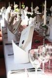 Dentro de um restaurante Imagem de Stock Royalty Free