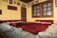 Dentro de um tekke do sufi, um tipo do monastério muçulmano Fotos de Stock Royalty Free