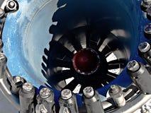 Dentro de uma arma da neve Foto de Stock Royalty Free