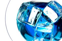 Dentro de uma bebida Foto de Stock