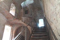 Dentro de uma fortaleza Foto de Stock Royalty Free