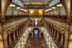 Dentro de uma universidade HDR Foto de Stock