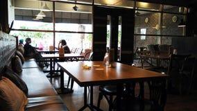 Dentro de un café Foto de archivo