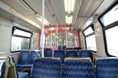 Dentro de un carro del tren Imagen de archivo