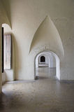 Dentro de un castillo español, banda Imagen de archivo