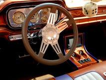 Dentro de un coche de Rod caliente Imagen de archivo