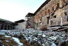 Dentro de un edificio de la fortaleza Fotografía de archivo libre de regalías
