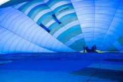 Dentro de un globo del aire caliente Fotografía de archivo libre de regalías