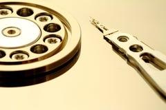 Dentro de un HDD abierto imagen de archivo