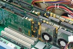 Dentro de un ordenador Imagenes de archivo