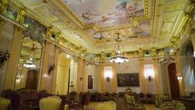 Dentro de un palacio hermoso almacen de video