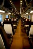 Dentro de un tren Imagenes de archivo