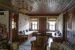 Dentro de una casa del otomano fotografía de archivo libre de regalías