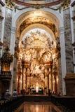 Dentro de una iglesia Fotos de archivo