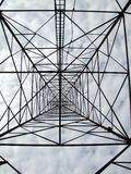 Dentro de una torre Foto de archivo libre de regalías