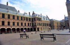 Dentro del Binnenhof Imagen de archivo libre de regalías