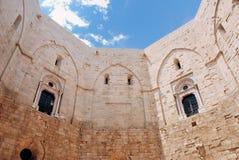 Dentro del castillo Imagenes de archivo