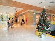 Dentro del centro commerciale di Vincom Fotografie Stock