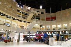 Dentro del cine del foro de Montreal fotos de archivo libres de regalías