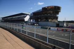 Dentro del circuito del 24h de Le Mans Foto de archivo libre de regalías