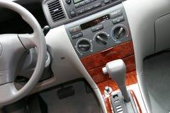 Dentro del coche Imagen de archivo libre de regalías