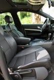 Dentro del coche Fotografía de archivo
