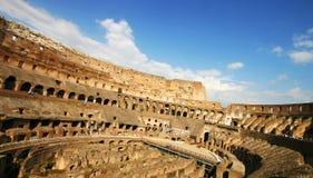 Dentro del Colosseum Imágenes de archivo libres de regalías