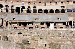 Dentro del Colosseum de Roma foto de archivo libre de regalías