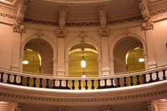 Dentro del edificio del capitolio del estado en Austin céntrica, Tejas Imágenes de archivo libres de regalías