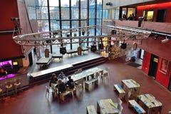 Dentro del edificio del dínamo Imagen de archivo libre de regalías