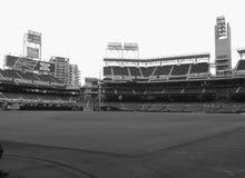 Dentro del estadio de béisbol Fotografía de archivo