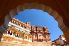 Dentro del fuerte de Mehrangarh Jodhpur Rajasthán La India Imagen de archivo