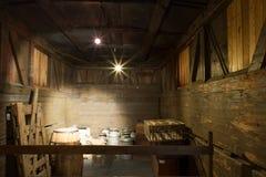 Dentro del furgón Foto de archivo libre de regalías