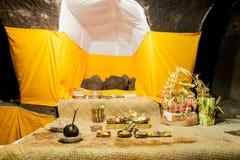 Dentro del Goa Gajah2 Fotografía de archivo libre de regalías