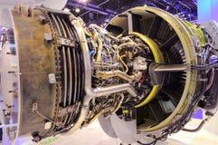 Dentro del motor de la potencia Foto de archivo libre de regalías
