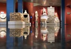 Dentro del museo de Antalya foto de archivo