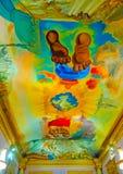 Dentro del museo de Dali Imagenes de archivo