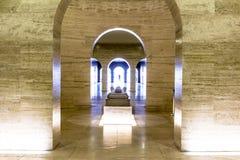 Dentro del obelisco Imagen de archivo