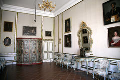 Dentro del palacio de Rectorâs en Dubrovnik. Croatia. Fotos de archivo libres de regalías