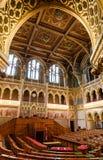 Dentro del parlamento de Hungría, Budapest Fotografía de archivo libre de regalías