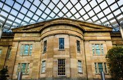 Dentro del patio de Kogod en National Portrait Gallery en W Imágenes de archivo libres de regalías