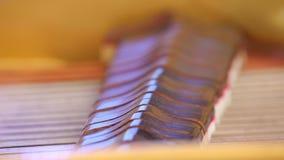 Dentro del piano Martillos que pegan secuencias Cierre para arriba almacen de metraje de vídeo